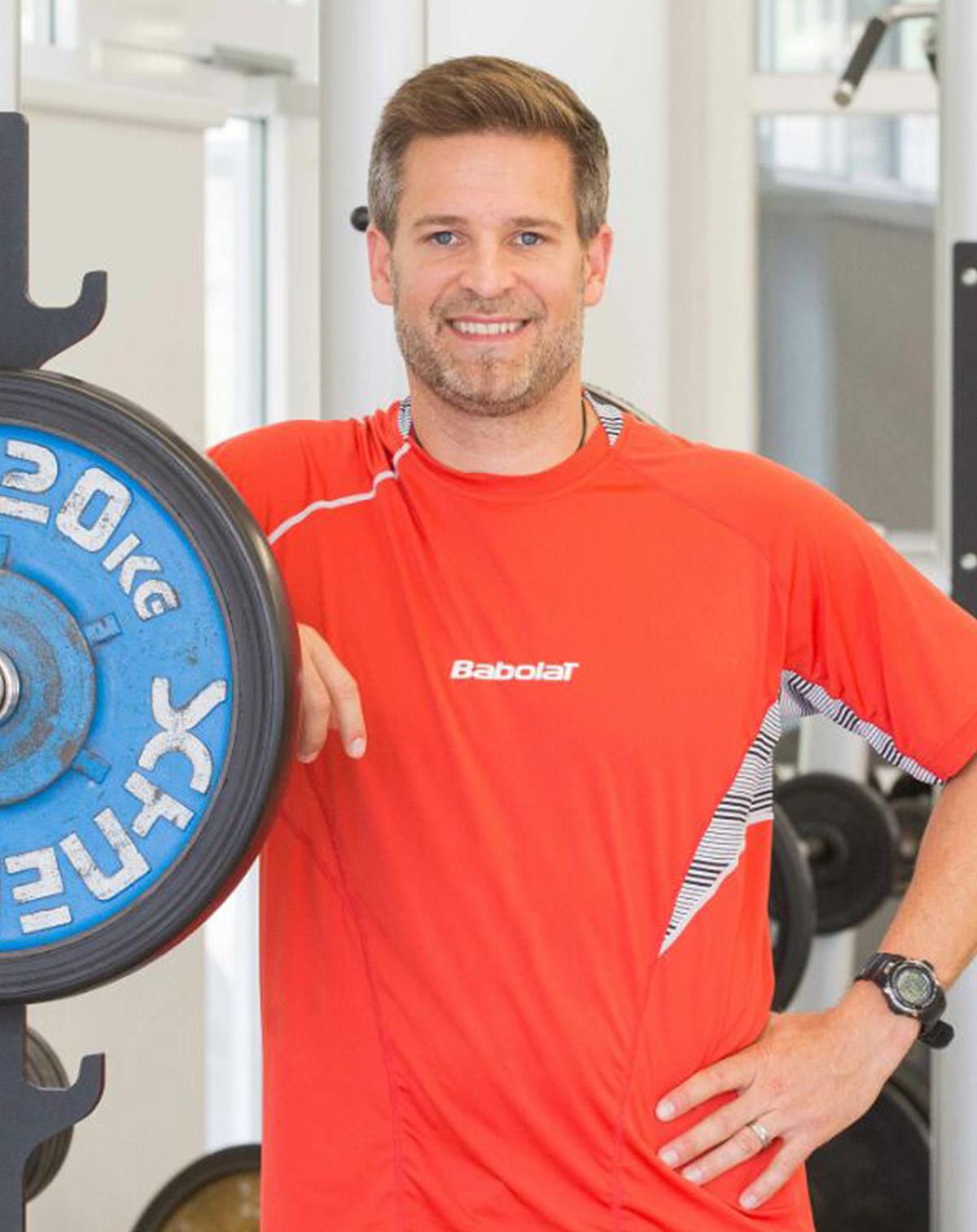 Atheltiktrainer Oliver Muelbredt